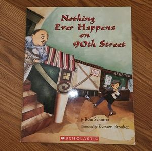 """""""Nothing Ever Happens On 90th Street"""" Paper Book"""